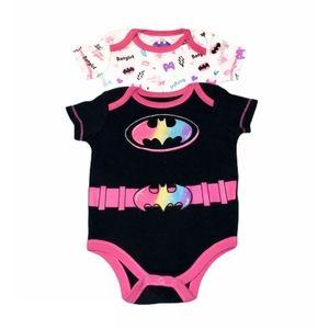 Baby girl batgirl onesies